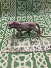 """Signed Spoontiques Bobcat Mountain Lion Solid Pewter 1"""" Figure Free Shipping"""
