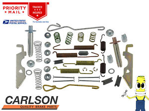 Complete Rear Brake Drum Hardware Kit for Cadillac Commercial Chassis 1975-1976