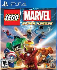 NEW Lego Marvel Super Heroes  (Sony PlayStation 4, 2013) NTSC