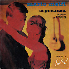 45TRS VINYL 7''/ FRENCH EP MARIO MELFI / ESPERANZA + 3