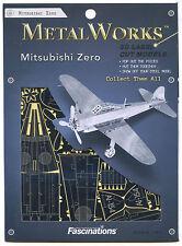 Metal Earth MITSUBISHI ZERO FIGHTER PLANE 3D Puzzle Micro Model