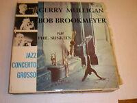 Gerry Mulligan/Bob Brookmeyer LP Play Phil Sunkel's