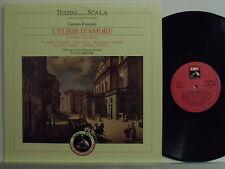 TULLIO SERAFINI LP L'elisir d'amore MADE ITALY Teatro alla Scala bicentenario
