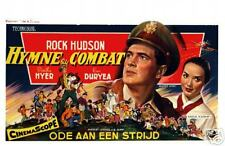 Rock Hudson : Douglas Sirk : Battle Hymn : Repro Poster