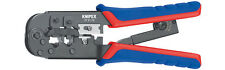 Knipex 97 51 10 Crimping Pliers For Western Plugs 190mm