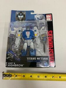 Transformers Generations - Titans Return - HIGHBROW - Deluxe Class - NEW -00310