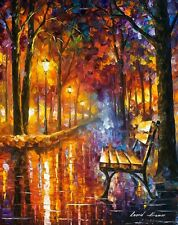 "LONELINESS OF PASSION — Oil Painting On Canvas By Leonid Afremov. Size: 24""x30"""