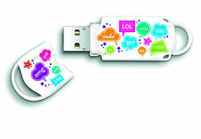 Integral Xpression 8GB USB 2.0 Flash Drive USB Memory Stick Cool Text Design