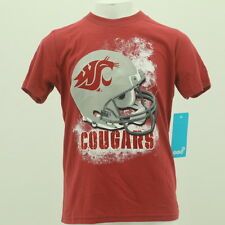 Washington State Cougars Youth Size NCAA Football Official T Shirt New With Tags