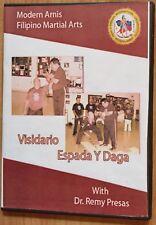 Moderne Arnis Live séminaire visidario Espada y daga featuring Dr. REMY P. PRESAS