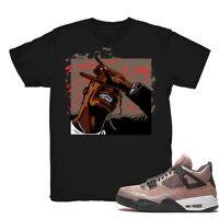 Shirt for Air Jordan 4 ''Taupe Haze'' Unisex T-Shirt Design 2 Black Shirt