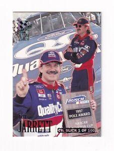1997 VIP OIL SLICKS UNNUMBERED PARALLEL #12 Dale Jarrett RARE--NO SERIAL #!