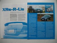FORD BA FALCON XR6 TURBO/XR8 2 PAGE MAGAZINE PREVIEW ARTICLE