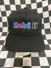 Mobil 1 Oil Victory Lane Issued Adjustable Snap Back Cap / Hat Stewart Haas