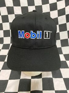 Mobil 1 Oil Victory Lane Issued Adjustable Cap / Hat Stewart Haas