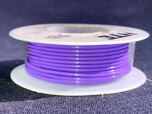 """22 awg Solid Strand Type """"E"""" Teflon Violet MIL16878/4 200°C@600V 25 ft. spool"""