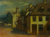 Holland - Belgium - France - the Hague School? - Oil Painting on Paper /
