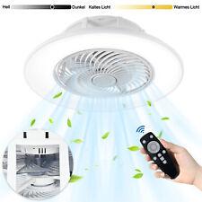 Deckenventilator Fernbedienung LED Lampe Schlafzimmer Dimmbar Deckenleuchte Neu