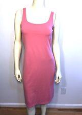Susana Monaco Pink/Salmon Tank Dress Bodycon Stretch Size Medium