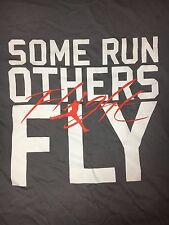 NWT NEW AIR JORDAN SHIRT COOL GREY 12 GRAPHIC SIZE L VINTAGE FLY NIKE M SOME RUN