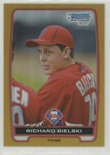 2012 Bowman Draft Chrome Picks Gold Refractors /50 Richard Bielski #BDPP97
