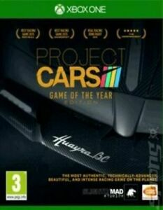 Project CARS: Game of the Year Edition (Xbox One) BRAND NEW SEALED