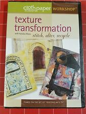 NEW Texture Transformation Stitch Alter Recycle with Natalya Aikens DVD
