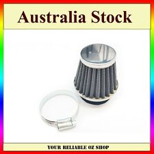 30mm Air Filter Honda Kawasaki Suzuki Yamaha SYM Scooter Chrome Cone Power Bike