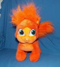 Build A Bear Disney Palace Pets Princess Ariel Orange Kitty Cat stuffed plush
