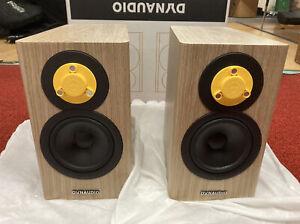 Dynaudio Evoke 10 Bookshelf Speakers - Pair (Blonde Wood) - New Open Box
