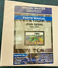 John Deere 3050 - 3350 - PARTS BOOK - PARTS MANUAL - FREE NEXT DAY DELIVERY