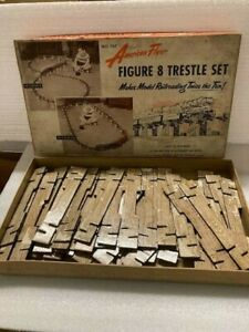 AMERICAN FLYER 747 CROSS PIECES for TRESTLE with BOX