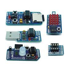 best PCB AtTiny85,Arduino shield, Charieplexing LED, USB Little wire, Wav player