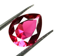 100% Natural Burma Ruby Gemstone Pear 2.15 Ct VS Clarity AGSL Certified