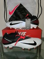Nike Phantom Vision 2 Elite FG Size 11.5 White Dynamic Fit Firm CD4161-106 NWOB