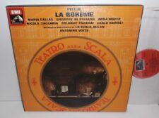 SLS 5059 puccini la boheme MARIA CALLAS Anna Moffo la Scala VOTTO 2LP Box set