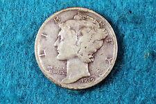 Estate Find 1939-D Mercury Dime! #F2395