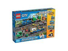 Lego 66493 City Super Pack 4 en 1 60052, 60050, 7895, 7499.