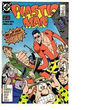 4 Plastic Man DC Comic Books # 1 2 3 4 Miniseries JLA Eel Pie Foglio Barta BH26