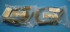 Lot of 2 Lxe Motorola 9-Pin Db9 Rs232 Barcode Scanner Cable Cba-R35-C09Za