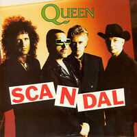 Queen - Scandal - Raro 1989GB Edición Limitada 2-track 17.8cm Vinilo P/S
