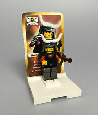 LEGO® Classic Ninja 1x Figur Shogun Red Warlord + Sammelkarte Set 3344 cas209