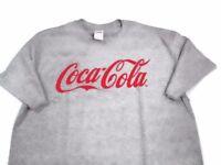 Coca-Cola Heather Gray Tee T-shirt X-Large XL  BRAND NEW