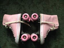 Roces urban pink roller skates size 5 worn once!