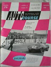 Autocourse & Sporting Motorist Sep 1956 Vol VI No 6 Le Mans