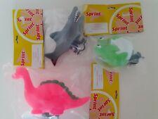 3 New Funimal Animal Cycle Horns Shark Dinosaur & Frog Kids Bike Bells Accessory
