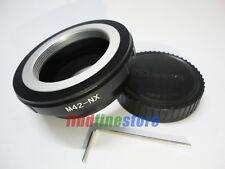 non flange M42 Lens to Samsung NX Adapter NX10 NX20 NX200 NX300 NX1000 + CAP