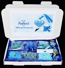 Personalised Fathers day Gift Million Sweets Hamper For Dad Daddy Grandad