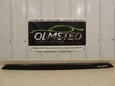 08 13 Dodge Challenger SRT8 Rear Deck Lid Trunk Spoiler Mopar Black 1GL20RXFAB