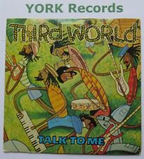 """THIRD WORLD - Talk To Me - Excellent Condition 7"""" Single Island WIP 9496"""
